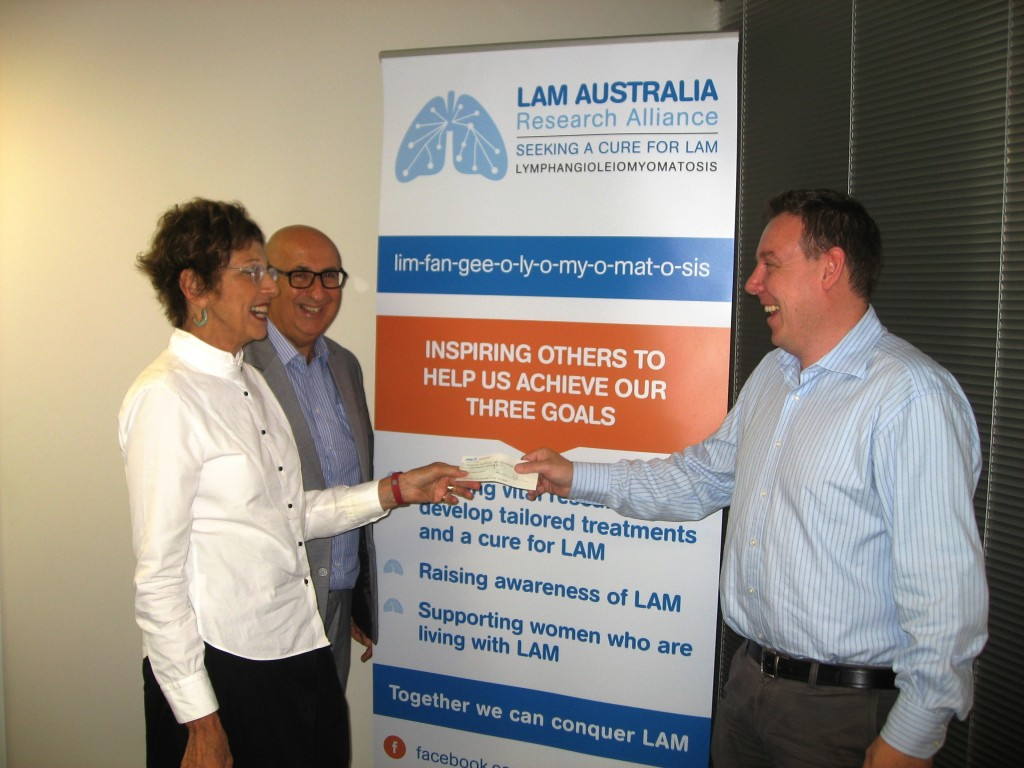 donation for LAM research